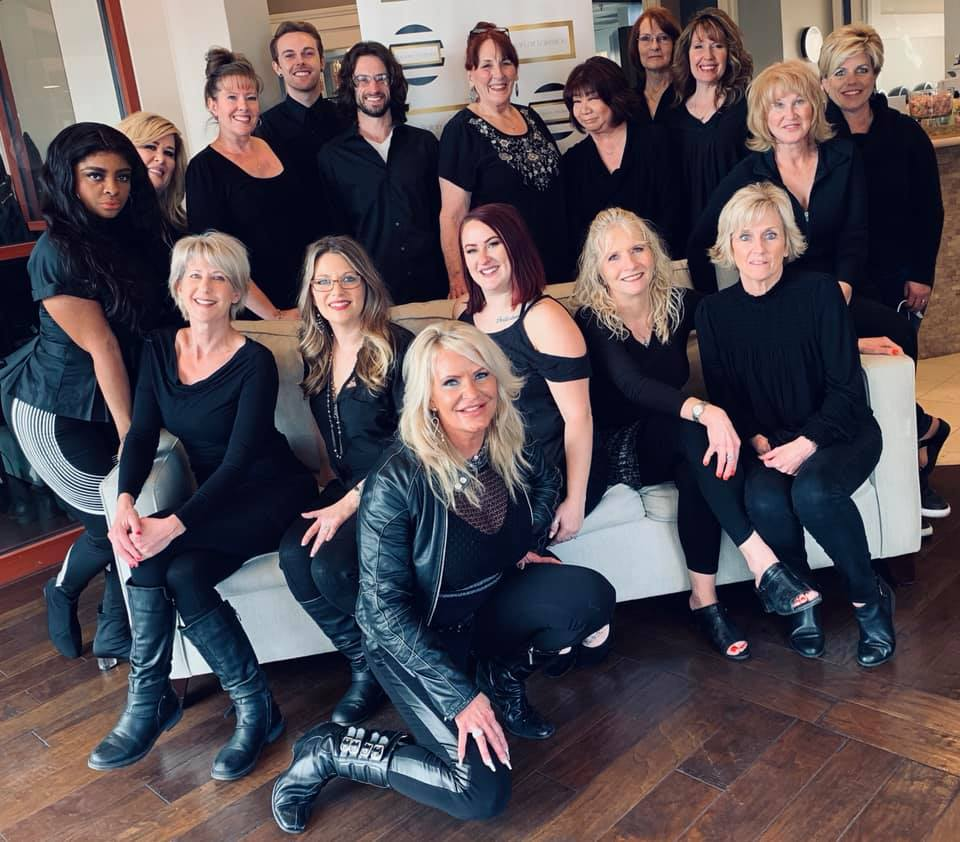 Image of the staff at The Salon at Lakeside, located at Lakeside Event Center