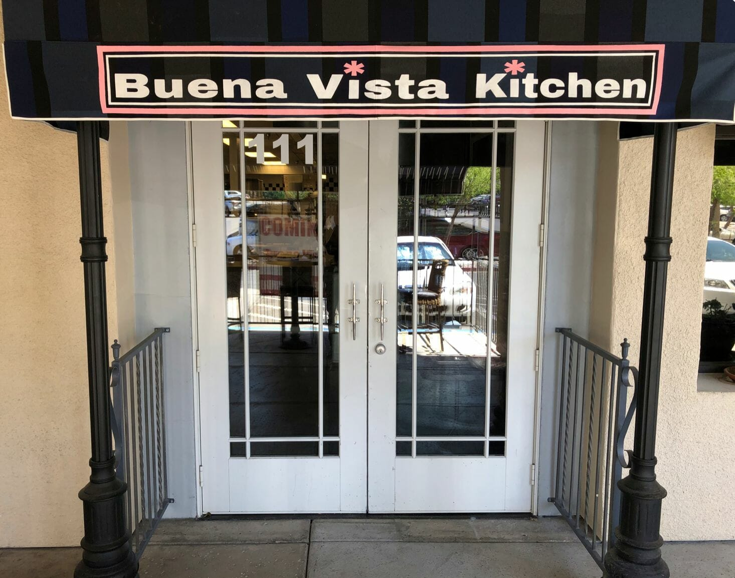 Entrance to Buena Vista Kitchen at Lakeside Event Center